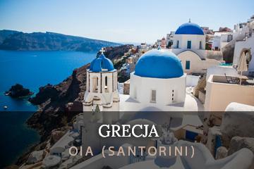 santorini grecja oia
