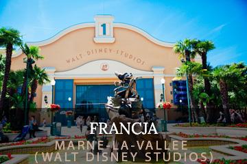 waltdisney studios marne-la-valle disneyland paryż